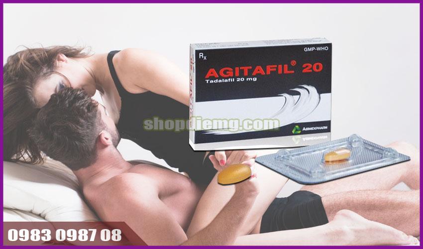 Thuốc tăng cường sinh lý, hỗ trợ cương dương tốt nhất nam giới Agitafil 20