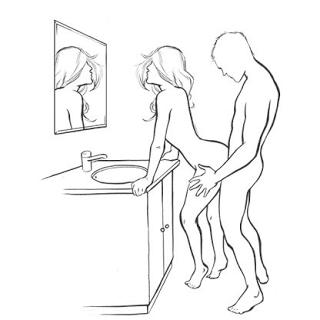 tư thế quan hệ trong nhà vệ sinh