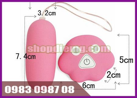 Trứng rung tình yêu không dây massage điểm g giá rẻ
