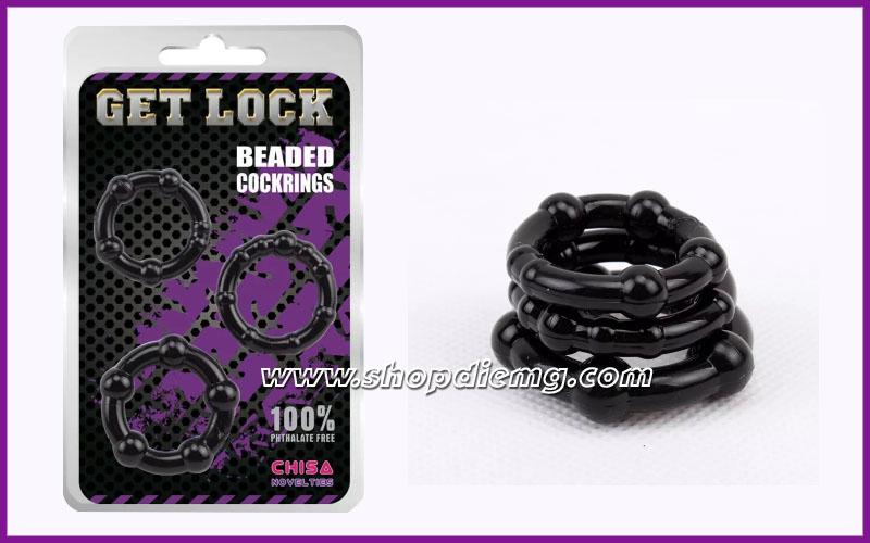 Bộ 3 vòng Get Lock đeo tinh hoàn 2