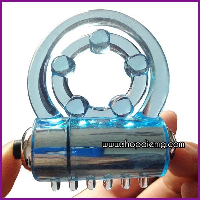Vòng đeo dương vật silicon massage âm đạo, ngăn ngừa xuất tinh sớm 3