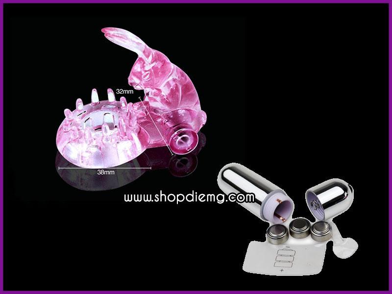 Vòng rung tình yêu tai thỏ, dụng cụ kích thích tăng khoái cảm khi quan hệ