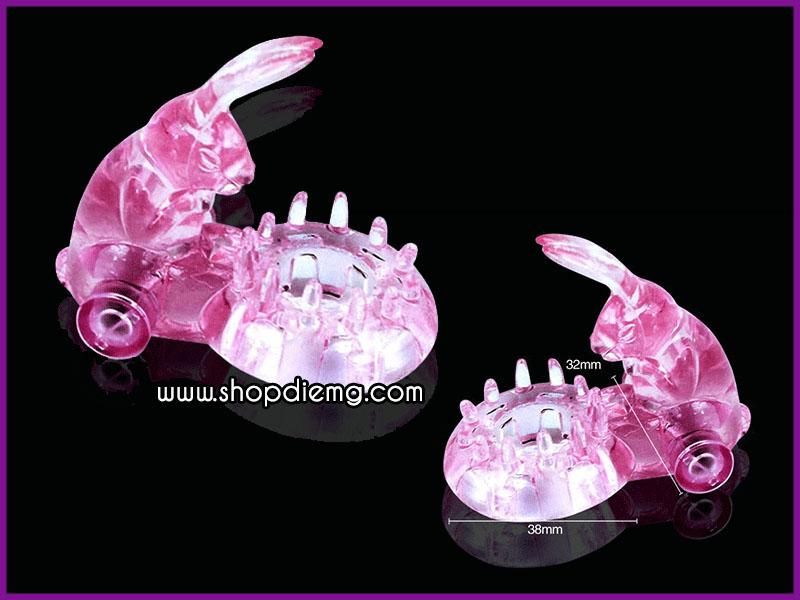 Vòng rung tình yêu tai thỏ, dụng cụ kích thích tăng khoái cảm khi quan hệ 5